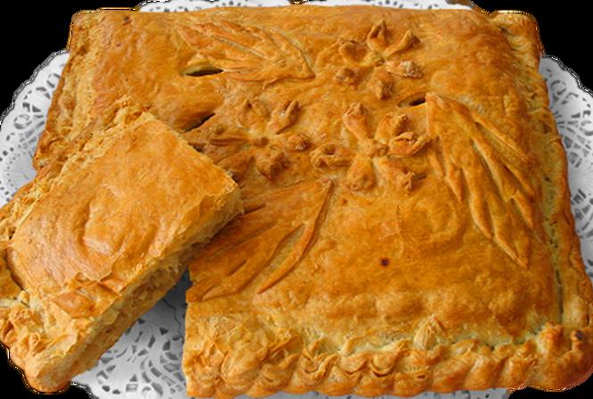 Пирог из слоеного теста с мойвой рецепт пошагово